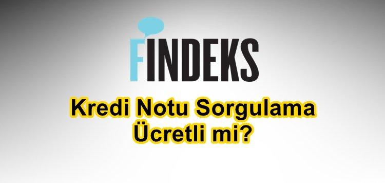 Findex Kredi Notu Sorgulama Ücretli Mi
